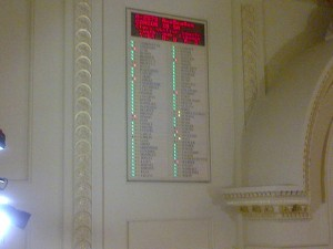 NJ Assembly Vote Board, showing results for final vote on A2579 / S1510