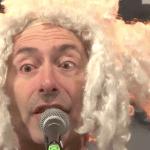 Dieser wahnsinnige Mann mit Mozartperücke hat meine Kinder beleidigt