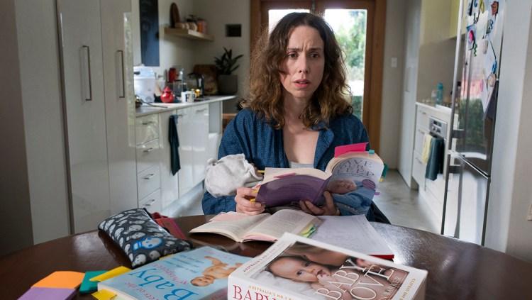"""Szene aus """"Milcheinschuss"""": Audrey, so überfordert wie so viele junge Mütter oder Väter"""