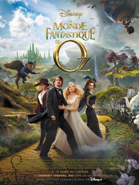 Le Monde fantastique d'Oz - affiche- Disney