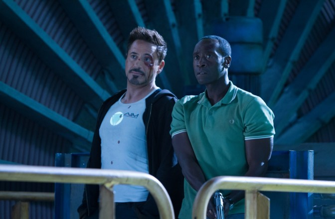 Iron Man 3 - Photo Don Cheadle, Robert Downey Jr.