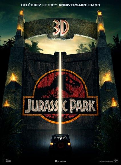 Jurassic Park 3D.