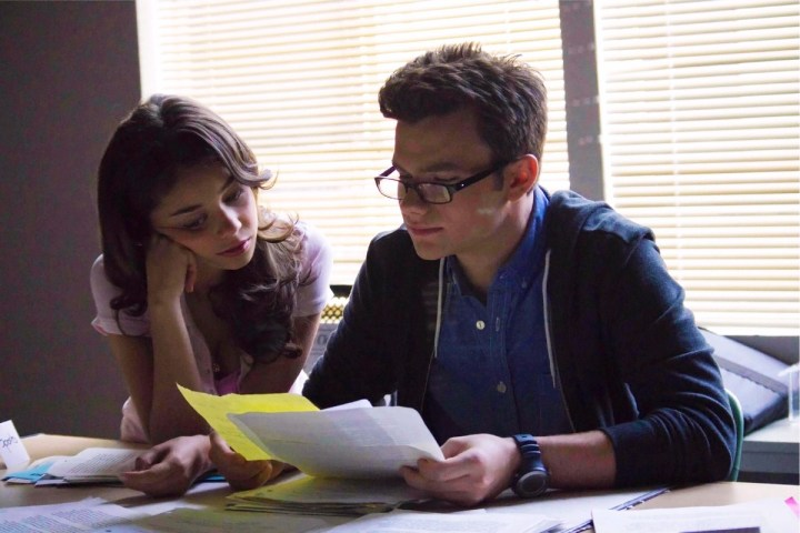 Struck - Photo Chris Colfer, Sarah Hyland