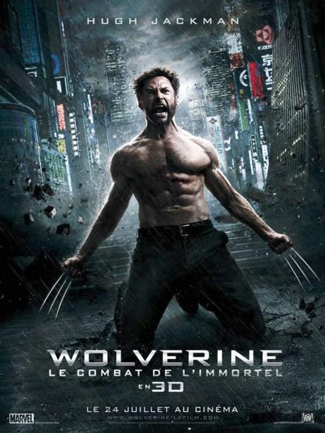 Wolverine - le combat de l'immortel - Affiche