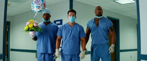 No Pain No Gain - Photo Anthony Mackie, Dwayne Johnson, Mark Wahlberg