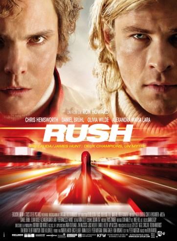 Rush - Affiche- Ron Howard Chris Hemsworth Daniel Bruhl