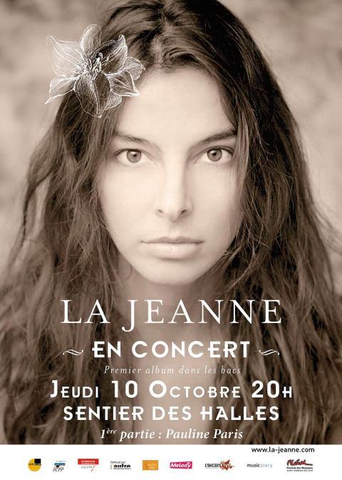 La Jeanne concert 1er album