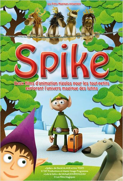 Affiche Spike Animation