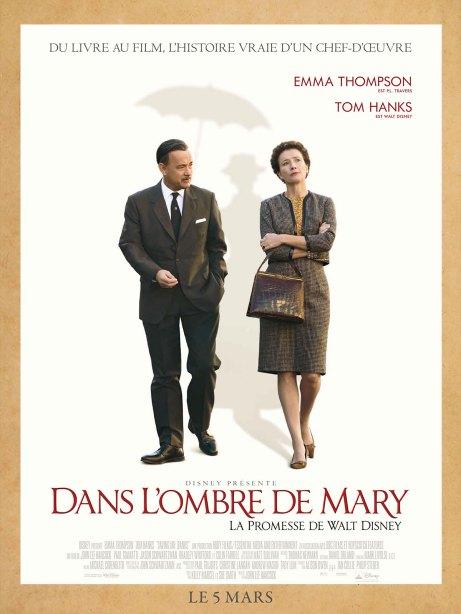 Dans l'ombre de Mary - La promesse de Walt Disney - Affiche