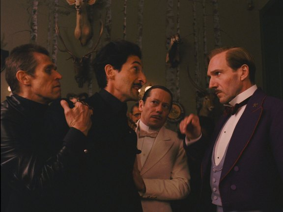 The Grand Budapest Hotel - Photo Adrien Brody, Mathieu Amalric, Ralph Fiennes, Willem Dafoe