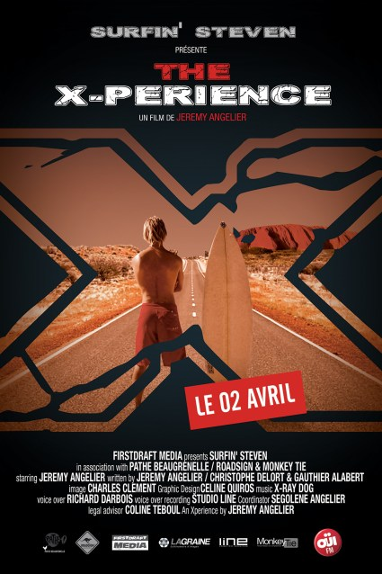 surfin-steven-the-x-perience-affiche