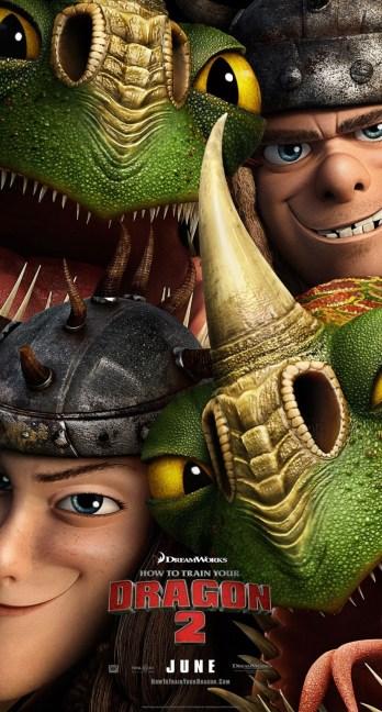 Dragons 2 - Affiche Les Jumeaux