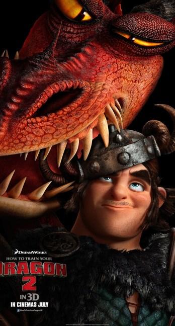 Dragons 2 - Affiche Rustik