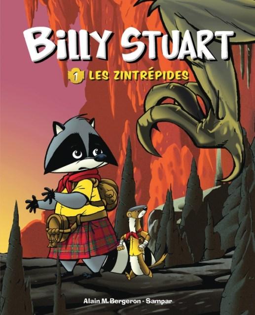 Billy_Stuart_Les_Zintrepides_Alain_M_Bergeron_Sampar_Cover_Hachette