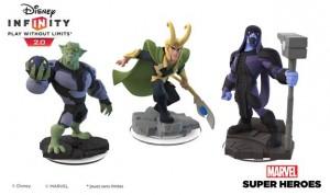 Disney Infinity 2.0 - Marvel Super Heroes- Loki-Ronan-Bouffon-Vert