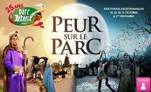 Peur sur le parc Asterix 2014
