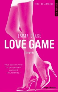 Cover Trilogie Tangled Love game Tome 1