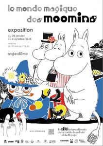 Le monde magique des Moomis expo 2015
