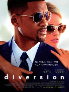 Affiche Diversion Will Smith Margot Robbie