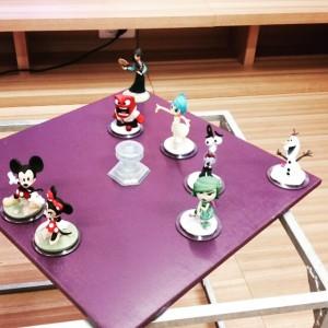 Les nouveaux personnages: Mickey, Minnie, Mulan...