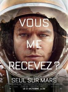 Seul sur Mars - Affiche-Ridley-Scott