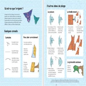 Explications Origami Editions Usborne