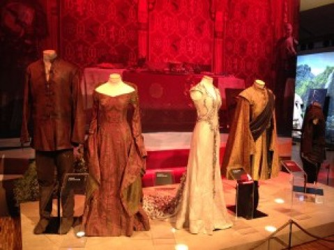 Expo #GOT Costumes des Lannister