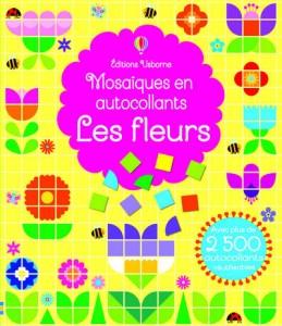 Mosaiques en autocollants Les fleurs
