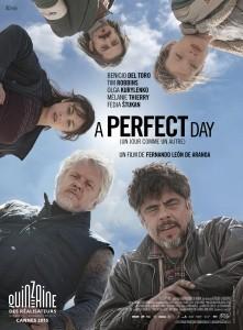 A perfect day (un jour comme un autre) - Affiche