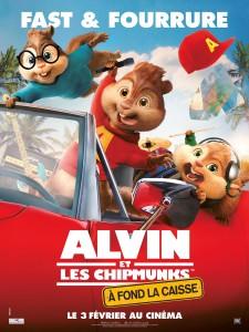 Alvin et les chipmunks a fond la caisse