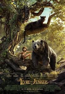 Affiche Livre de la Jungle Jon Favreau