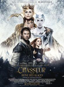 Le Chasseur et la reine des glace- Personnages- Affiche