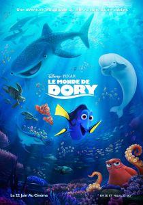 Affiche le monde de Dory Disney