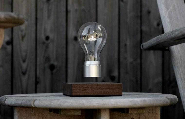 FLYTE. New Labels Only. Levitating Lightbulb