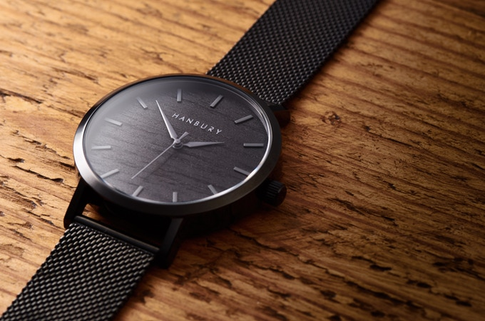 Hanbury Watch in Black. New Labels Only