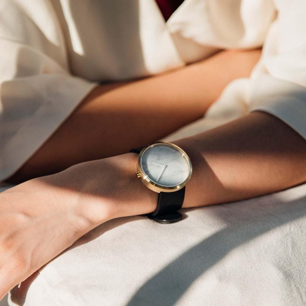 Marble Dial Watches. Maven watches in white