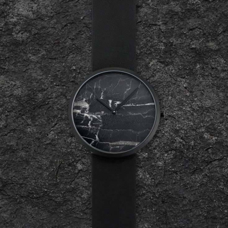Maven Watches Black Marble Dial