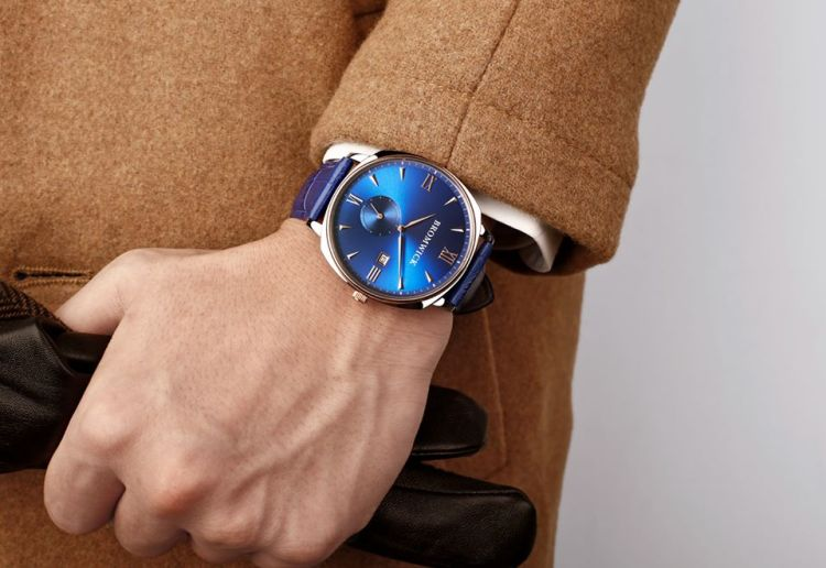 Bromwick Watches Crown Blue. The Perfect valentine's day gift from him