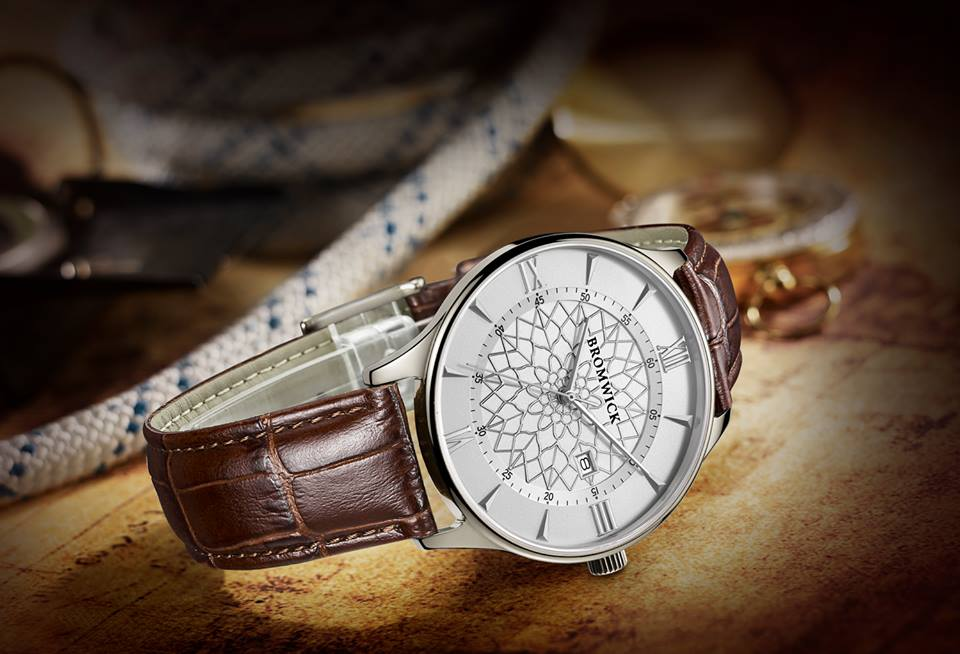 Bromwick Watches brown tower. The Perfect valentine's day gift from him