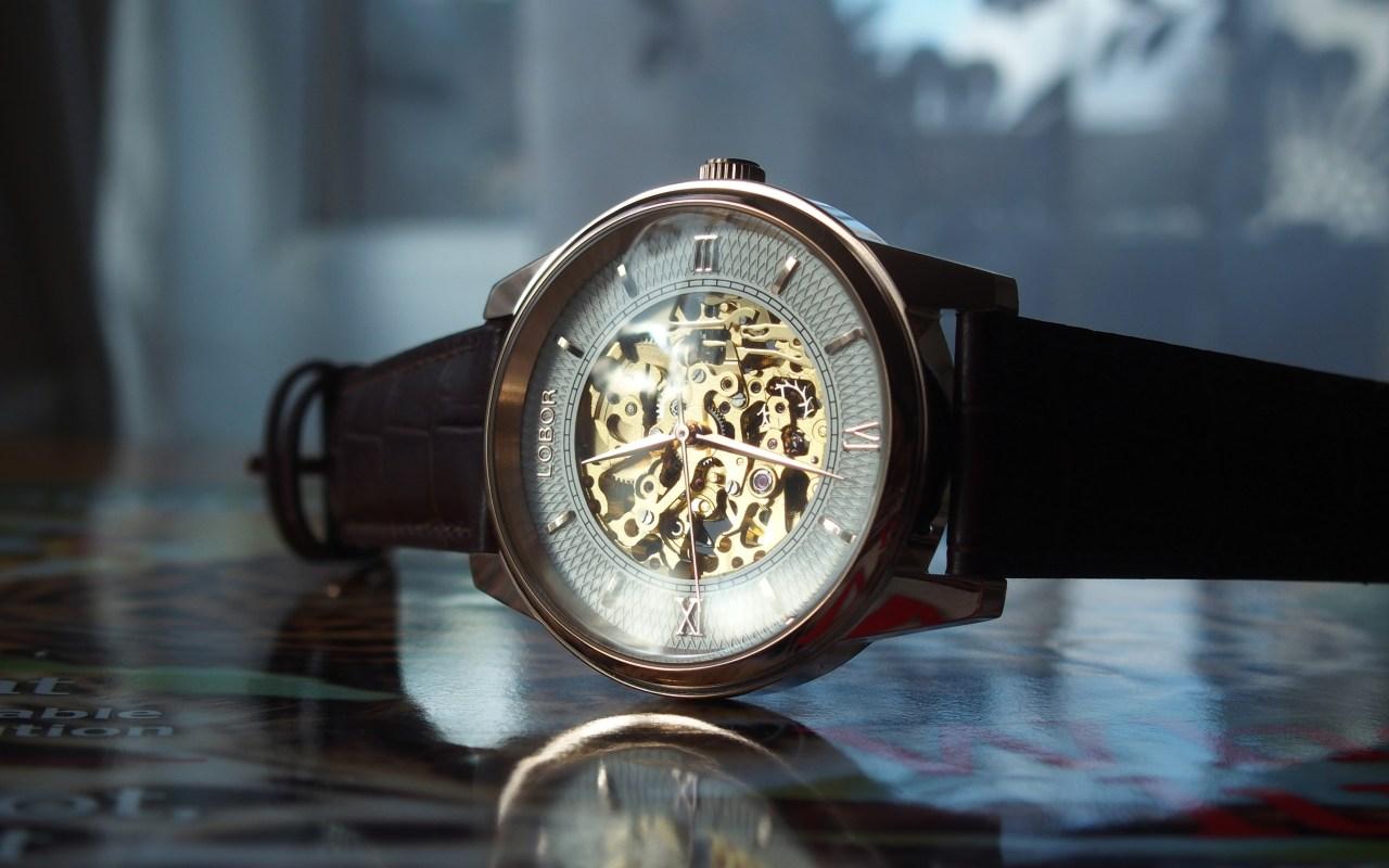 Lobor Automatic Skeleton Watches