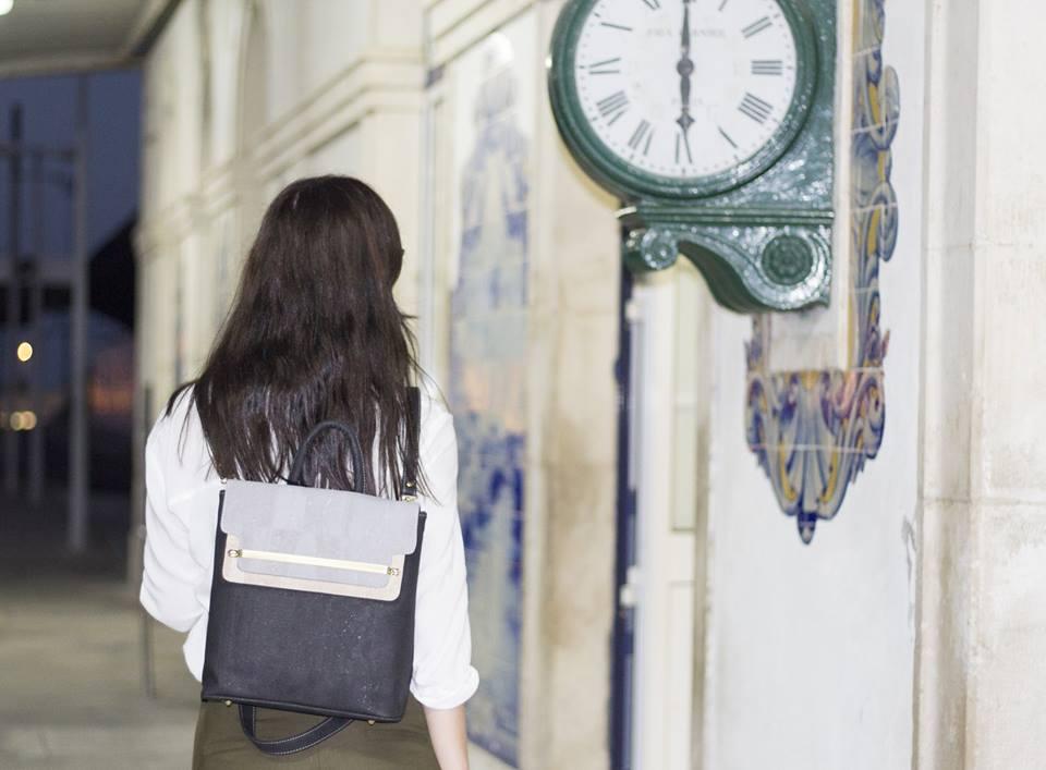 Cork handbags. Cork Backpack