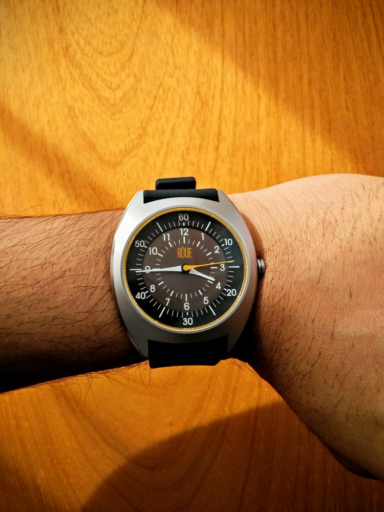 Roue minimalistic watches HDS one watch review