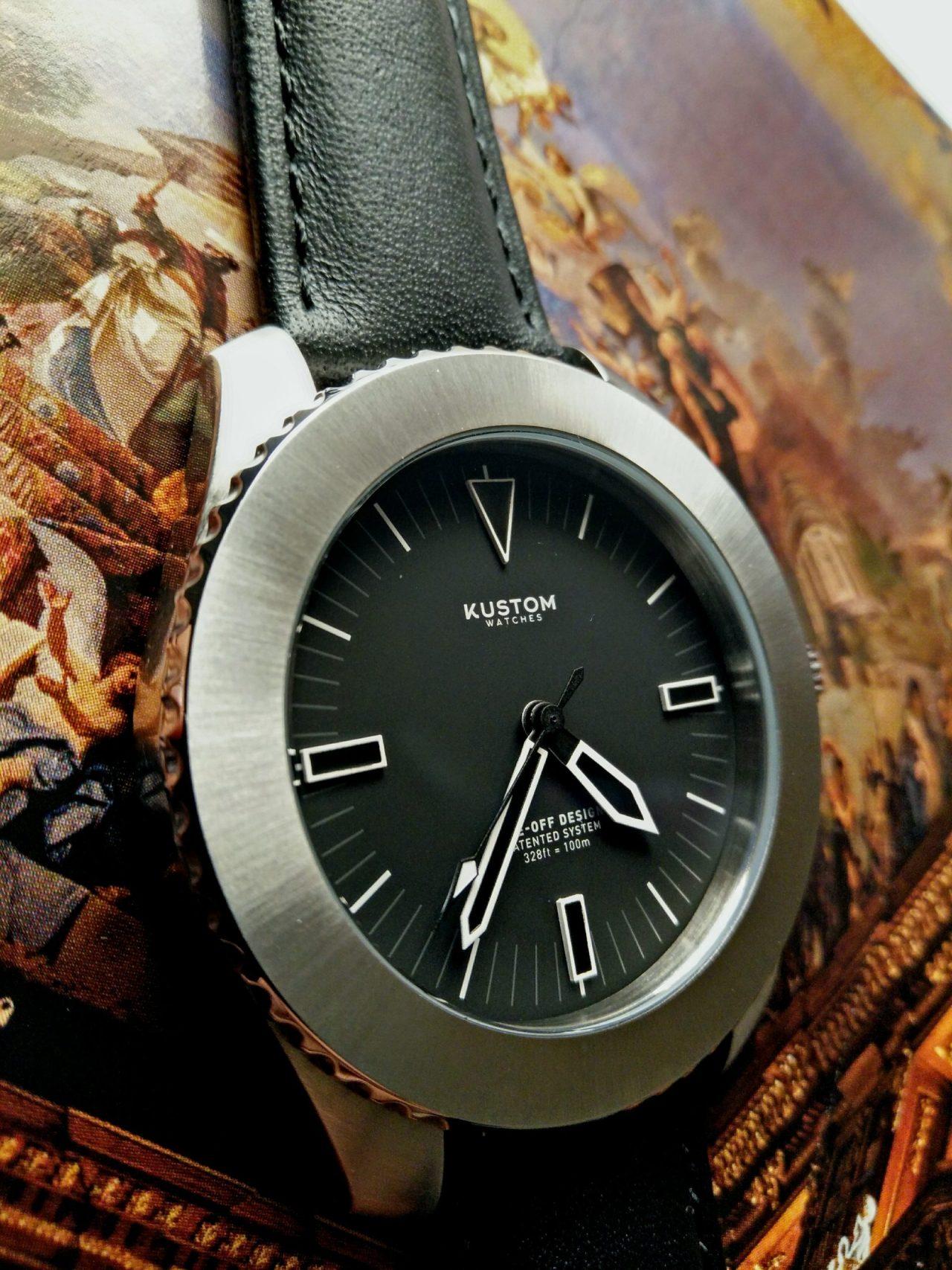 Kustom watches side