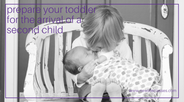 Photo: Prepare your toddler for the arrival of a second child