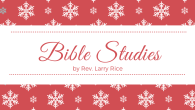 """We hope you are blessed by the following Bible Studies. God is Able by Larry Rice """"If you are going to accomplish that which God has called you to do you also must be fully persuaded that God is able. […]"""