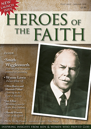 Heroes of the faith magazine issue one
