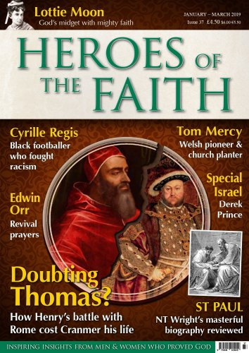 heroes of the faith january 2019 cover