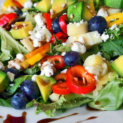 Avocado, Hearts of Palm Salad