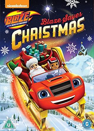 Blaze Saves Christmas