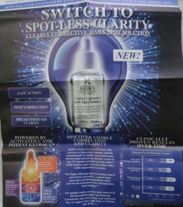 Kiehl's Clearly Corrective™ Dark Spot Solutions Launch